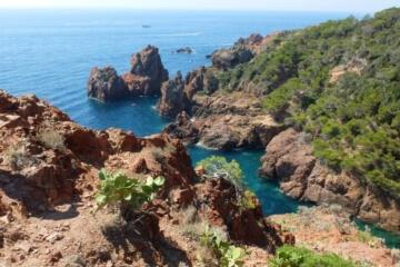 Crique proche du Camping Azur Rivage