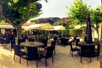 Services du Camping Azur Rivage : la terrasse