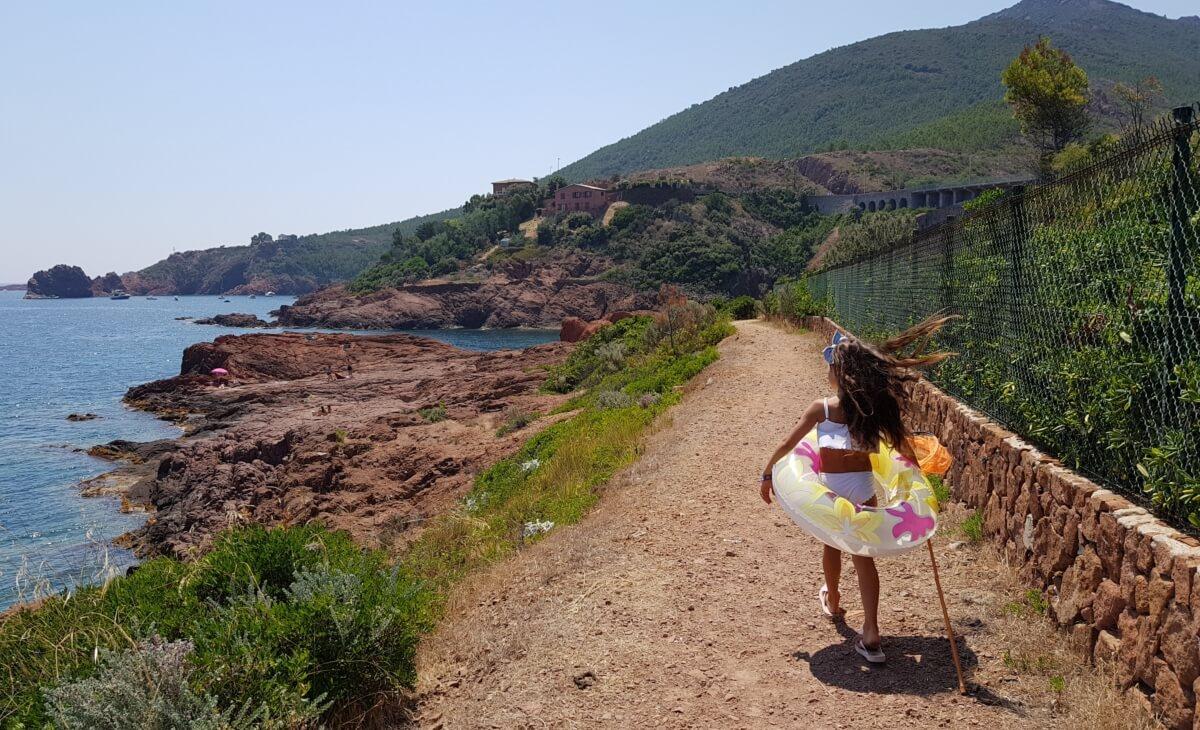 Randonnées à Saint-Raphaël au bord de mer