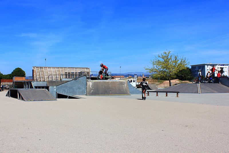 Skatepark à fréjus