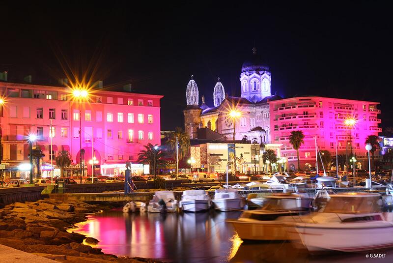 Vue sur le vieux port de Saint-Raphaël
