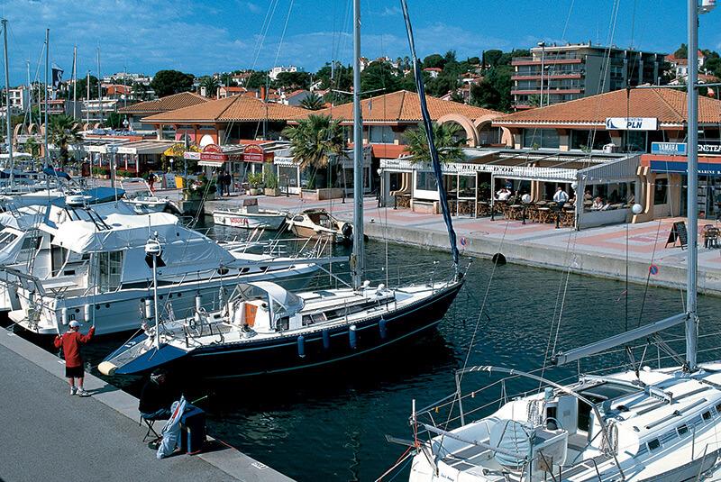 Port Santa Lucia à Saint-Raphaël